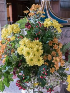 Headcorn Church Harvest Flowers-1