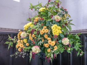 Headcorn Church Harvest Flowers-3