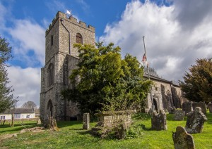 Sutton Valence  church exterior